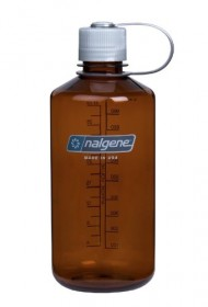 Nalgene Narrow Mouth Water Bottle, 1-Quart, Rustic Orange