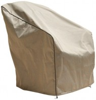 Budge English Garden Large Outdoor Chair Cover P1W02PM1, Tan Tweed (34 H x 36 W x 41 D)