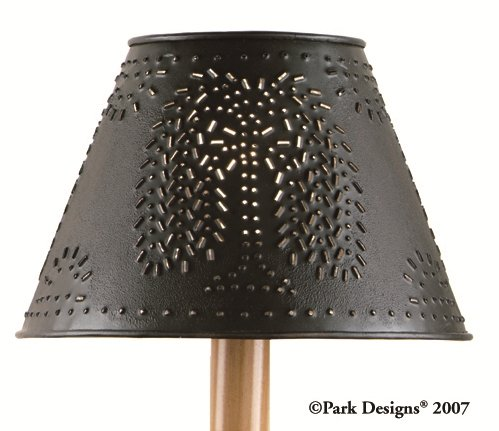 Black Willow Tree Punched Tin 12″ Lamp Shade by Park Designs