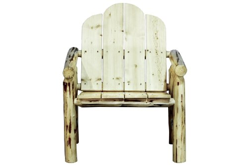 Montana Woodworks Montana Collection Deck Chair, Ready to Finish