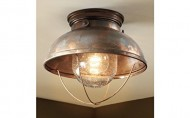 Ceiling Lodge Rustic Country Western, Antique Bronze Lighting, Light Fixture