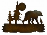 Gardman 8442 Bear Wilderness Wall Art, 15.95″ Long x 25.25″ Wide
