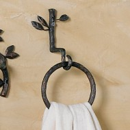 Nature Walk Towel Ring Hook