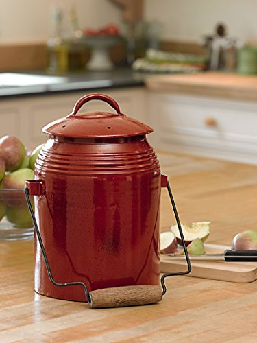 Rustic Kitchen Compost Crock