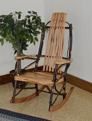 Rustic Hickory Rocker *ALL HICKORY* Amish Made USA