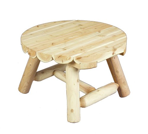 Cedarlooks 0200009 Log Round Coffee Table