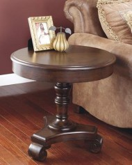 Signature Design by Ashley Old World Dark Rustic End table