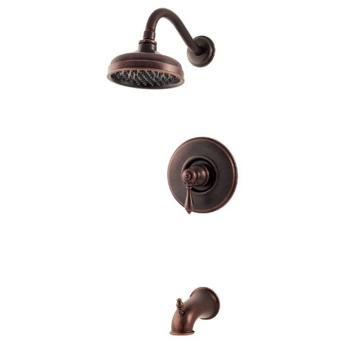 Pfister Marielle 1-Handle Tub & Shower Trim in Rustic Bronze