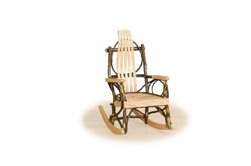 Rustic Hickory Child Rocker- ALL HICKORY – Amish Made