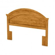 """South Shore Furniture 54/60"""" Cabana Headboard, Full/Queen, Country Pine"""