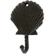 Scallop Sea Shell Wall Hook