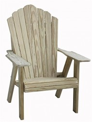 Fan Back Adirondack Chair in Pine