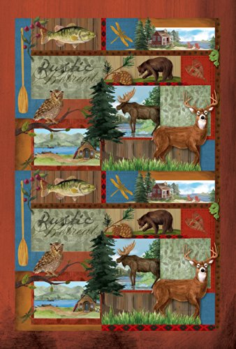 Toland Home Garden Rustic Retreat 12.5 x 18-Inch Decorative USA-Produced Garden Flag