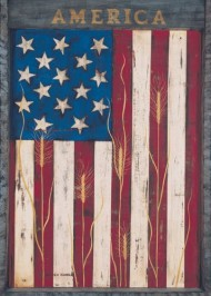 Toland Home Garden America 28 x 40-Inch Decorative USA-Produced House Flag