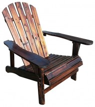 Leigh Country Char-Log Adirondack Chair