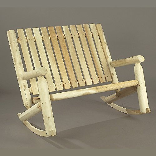 Cedarlooks 010005B High Back Log Bench