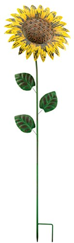 Regal Art and Gift Giant Rustic Flower Stake, Sunflower