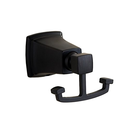 Marmolux Acc Chicago Collection 12135-orb Bathroom Metal Robe Hook Zinc, Oil Rubbed Bronze