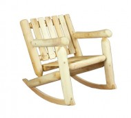 Cedarlooks 0100005 Log Rocking Chair