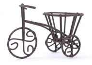 Touch of Nature 2.75 by 1.5 by 2-Inch Fairy Garden Bicycle Yard Art, Mini, Rustic