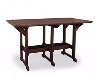Finch Poly Lumber 43″x43″ Great Bay Bar Table *Turquiose* Amish Made USA
