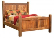 Reclaimed Barnwood Bed, Amish Made, Solid Barn Wood Rustic, Pick Your Size, Full