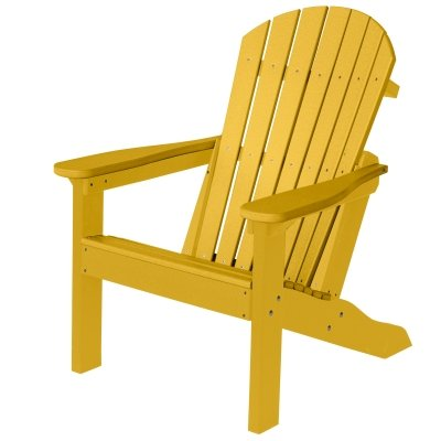 Berlin Gardens Comfo-Back Adirondack Chair – Sunburst Yellow