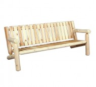 Cedarlooks 0100007 6-Feet Log Cedar Bench