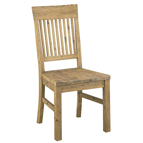 Modus Furniture 8FM266 Autumn Solid Wood Dining Chair, 2-Pack