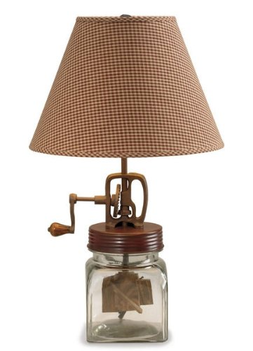 Butter Churn Lamp
