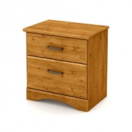 South Shore Furniture Cabana Night Stand, Country Pine
