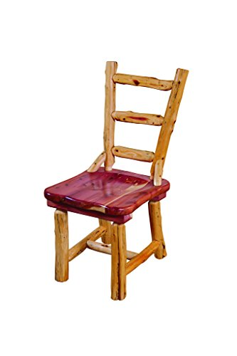 Rustic Red Cedar Log DINNING ROOM CHAIRS – SET OF 2
