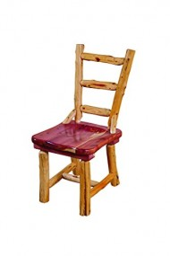 Rustic Red Cedar Log DINNING ROOM CHAIRS – SET OF 4