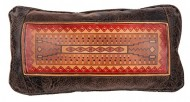 """Big House Home Collection """"Navajo Rug 8010"""" Home Accent Pillows, 11 by 20-Inch"""