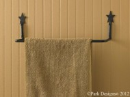 Star Towel Bar 16″
