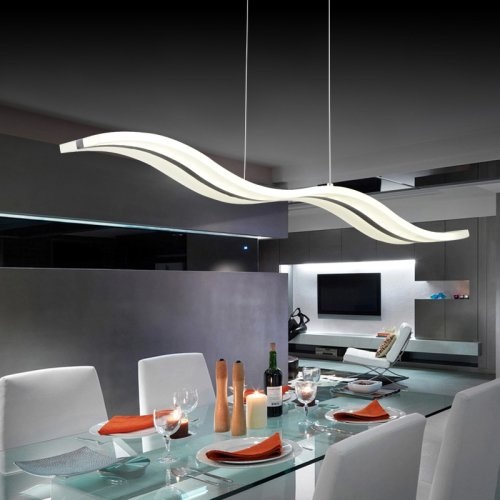 LightInTheBox® Modern LED Pendant Lights Chandelier Ceiling Light Lighting Fixture for Living Room/Bedroom/Dining Room Warm White