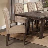 Alpine Furniture Newberry Parson Chairs – Set of 2