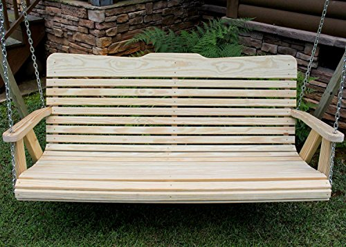 Handmade Amish Heavy Duty 800 Lb 5ft. Porch Swing- Made in USA