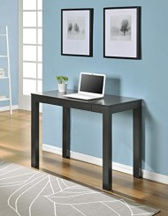 Parsons Desk with Drawer, Espresso Finish