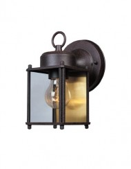 Designers Fountain 1161-RP Value Collection Wall Lanterns, Rustic Patina