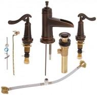 Pfister Ashfield 2-Handle 8″ Widespread Bathroom Faucet, Rustic Bronze