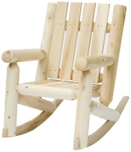 Cedarlooks 01005JR Kids Log Style Rocking Chair