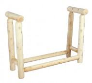 Cedarlooks 1301004 Log Firewood Rack, 4-Feet