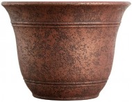 Living Accents SRA16001P05 Sierra Planter, Rustic Redstone, 16-Inch Width