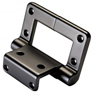 30 inch-pound Lid-Stay Torsion Hinge, Rustic Bronze, 1 per Pack