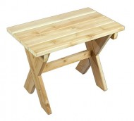 Cedarlooks 0400409 Rectangular Side Table