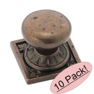 Euro Stone Ambrosia Knob – Rustic Bronze (Set of 10)