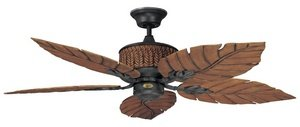 Concord 52FEB5RI Ceiling Fans, Rustic Iron Finish