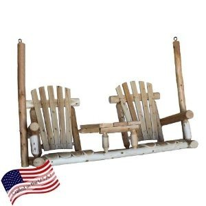 Lakeland Mills A-Frame Porch Swing, 5′