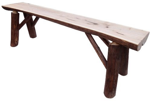 Kelly's Hickory Furniture Solid Wood Bench, 40-Inch